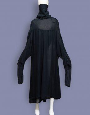 Comme-Des-Garcons-Giraffe-Neck-Sheer-Dress-001