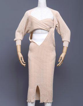 Issey-Miyake-Asymmetrical-Wrap-Dress-001