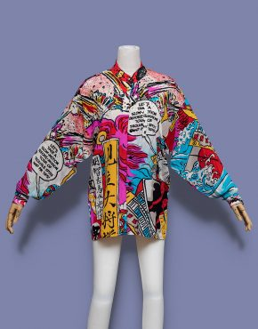 Kansai-Yamamoto-Comic-Print-Button-Up-Shirt-001