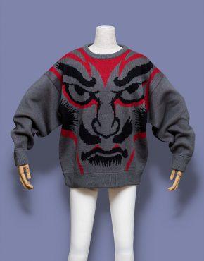 Kansai-Yamamoto-Face-Knit-Sweater-001